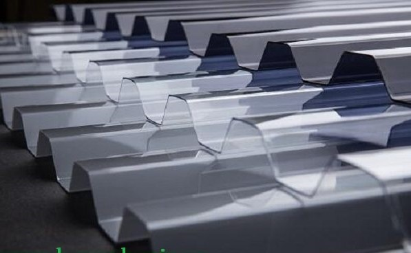 tôn nhựa lấy sáng 11 sóng dạng vuông